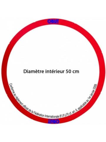 Cercle de pétanque rigide